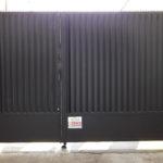 Portail-battant-accès parking-copropriété-YVES-CARTON-PORTAILS-LILLE
