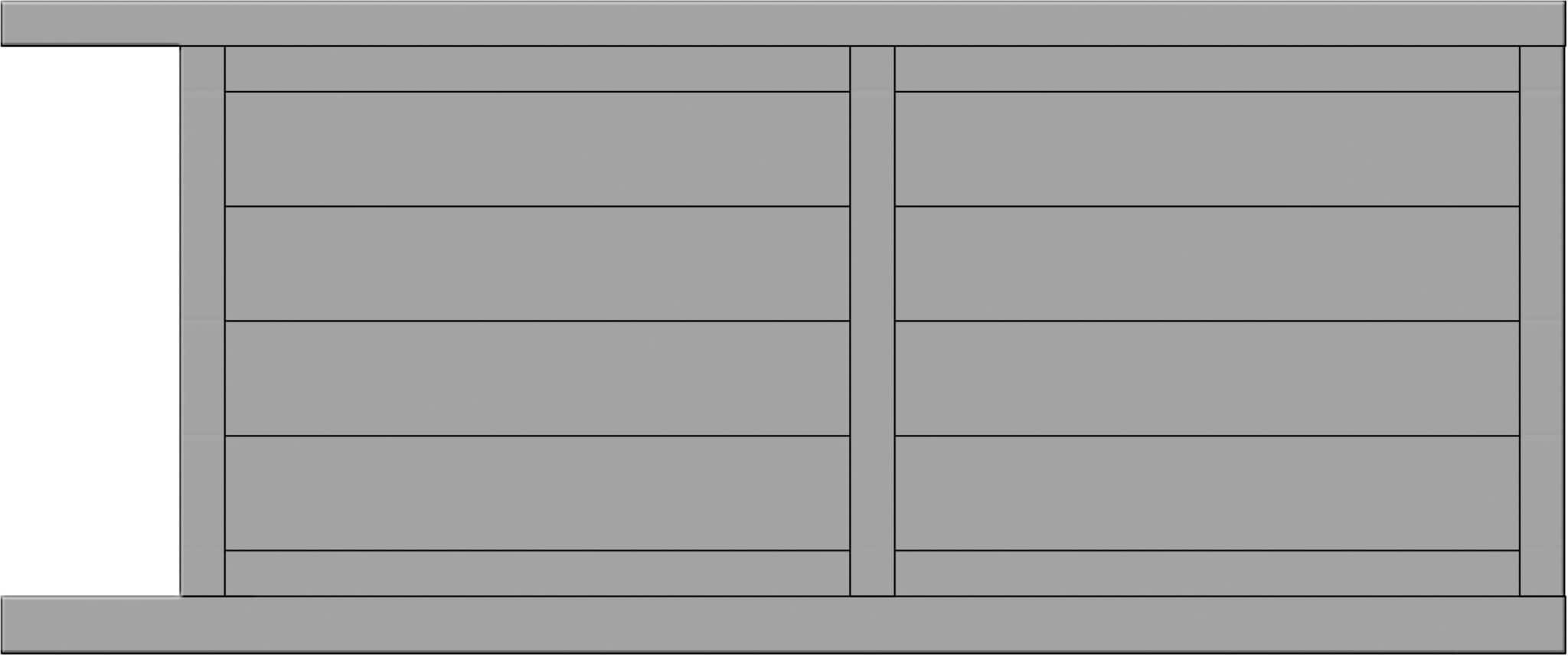Modèle Frissel de portail coulissant - Yves Portail
