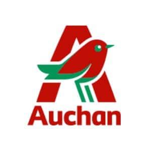 Auchan - logo Yves Carton