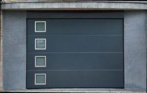porte de garage en inox yves carton