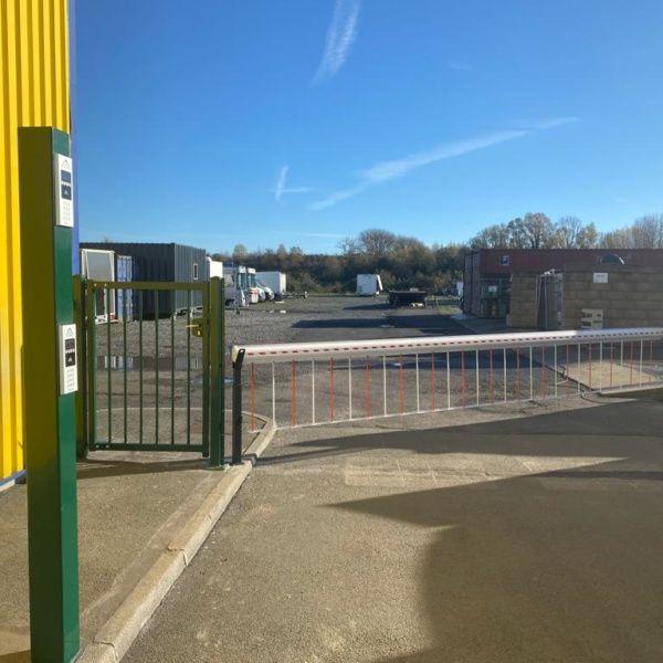 Sécurisation du parking l client Nieppe
